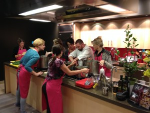 Hands-on Cooking at ATCO Blue Flame Kitchen